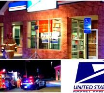 Cierran oficina de correos en Alpine Texas, después de registrarse un incendio durante la madrugada