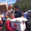 CRUZ ROJA MEXICANA Y FUNDACION IENOVA ENTREGAN AYUDA EN LA SIERRA TARAHUMARA