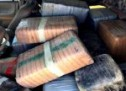 AGENTES DEL CONDADO BREWSTER LOCALIZAN 366 KG DE MARIHUANA EN VEHICULO ABANDONADO