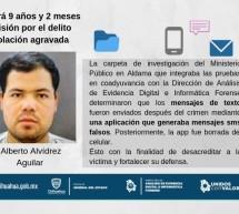 DAN 9 AÑOS DE PRISIÓN A VIOLADOR QUE ESCAPÓ DE CIUDAD JUDICIAL