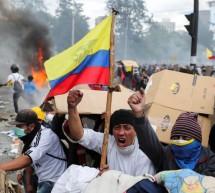 GOBIERNO DE ECUADOR DISPUSO TOQUE DE QUEDA Y MILITARIZACIÓN EN QUITO