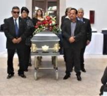 """RINDEN POSTUMO AL REGIDOR LEOBARDO """"CHIQUILIN"""" RODRIGUEZ"""
