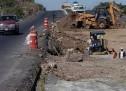 SUSPENDEN CONSTRUCCIÓN DE CARRETERA JULIMES A OJINAGA POR REDUCCIÓN DE PRESUPUESTO