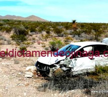 REPORTAN VOLCADURA A LA ALTURA DEL KILOMETRO 62 DE LA VIA DE CUOTA