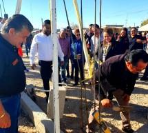COLOCAN LA PRIMERA PIEDRA DE LAS NUEVAS OFICINAS SINDICALES DE LA DELEGACION D-I-26 EN OJINAGA