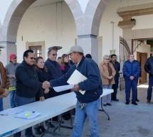 ENTREGAN CARTAS DE NOTIFICACIÓN DE APOYO DE SEMILLAS DE AVENA A PRODUCTORES DE LA REGIÓN