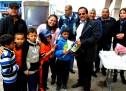 ENTREGAN MATERIAL DEPORTIVO PARA DESARROLLAR EL BÉISBOL INFANTIL