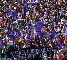 MARCHAN MILES POR 8M EN CHILE