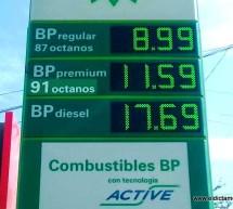 BAJA LA GASOLINA EN OJINAGA POR DEBAJO DE LOS 10 PESOS LA MAGNA; $8.99 LA MAS BARATA