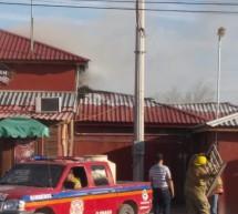 EXPLOSION EN RESTAURANTE MOVILIZA CUERPOS DE EMERGENCIA EN LA COLONIA PORFIRIO ORNELAS