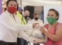 La Presidencia Municipal de Aquiles Serdán intensificó la entrega de apoyos a la población, con lo que se amplió la cobertura de la estrategia de distribución de paquetes para complementar la alimentación de los vecinos.