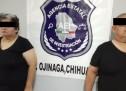 CAE PAREJA CON ARMA Y CARTUCHOS EN PUENTE INTERNACIONAL DE OJINAGA