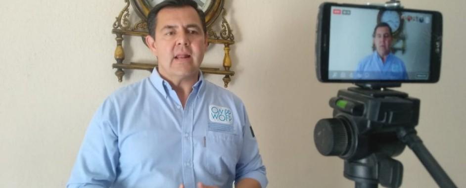 VISITA LA FRONTERA DE OJINAGA EL DR. ALEJANDRO DÍAZ VILLALOBOS, DELEGADO DE LA ORGANIZACIÓN MUNDIAL POR LA PAZ (OMPP)
