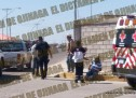 ATIENDE CRUZ ROJA A PERSONA ATROPELLADA EN LA DECIMA Y CAMARGO