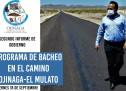 2do INFORME| SE REHABILITARON 18.5 KM DE LA CARRETERA OJINAGA-MULATO
