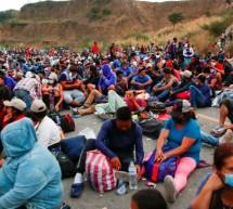 'NO HAY COMIDA', DICEN MIGRANTES DE CARAVANA CON DESTINO A EU Y VARADA EN GUATEMALA