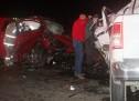 ACCIDENTE EN LA MADRUGAD DEJA DOS PERSONAS FALLECIDAS EN ANDREWS