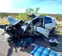 MUERE MUJER EN FATAL ACCIDENTE EN LA CARRETERA DE CUOTA OJINAGA-CHIHUAHUA