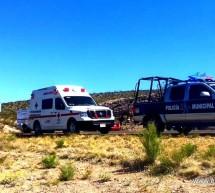 FATAL ACCIDENTE EN LA VIA DE CUOTA OJINAGA-CHIHUAHUA DEJA UNA PERSONA FALLECIDA