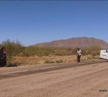 CHOQUE DE FRENTE DE CAMIONETA DE PASAJEROS CONTRA PICK UP EN LA OJINAGA A ALDAMA