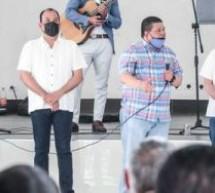 SE REÚNEN EQUIPO  DE MARU CAMPOS CON RECONOCIDOS PRIISTAS