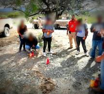 RESCATA INM A 12 PERSONAS MIGRANTES EXTRANJERAS Y MEXICANAS