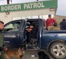 AGENTES DE CBP SECTOR BIG BEND DETIENE A 16 MIGRANTES ILEGALES EN ALPINE