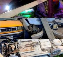 170 MIL PESOS EN DAÑOS EN SOLO TRES ACCIDENTES REGISTRADOS DURANTE EL PASADO FIN DE SEMANA REPORTA POLICÍA VIAL