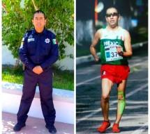 RICARDO GONZÁLEZ POLICIA VIAL Y ATLETA