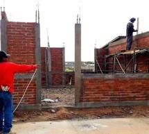 MUY AVANZADO LA CONSTRUCCIÓN DE LA CAFETERIA DEL COBACH 22 DE OJINAGA