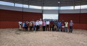 ENTREGA GOBIERNO DEL ESTADO SALÓN DE USOS MÚLTIPLES Y ESTADIO DE BÉISBOL EN MANUEL BENAVIDES