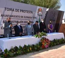 TOMA PROTESTA AL ALCALDE DE OJINAGA, EL DIPUTADO OMAR BAZÁN