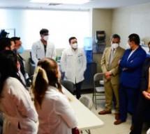 VISITA GOBERNADORA EL HOSPITAL INFANTIL DE ESPECIALIDADES PARA CONOCER CONDICIONES