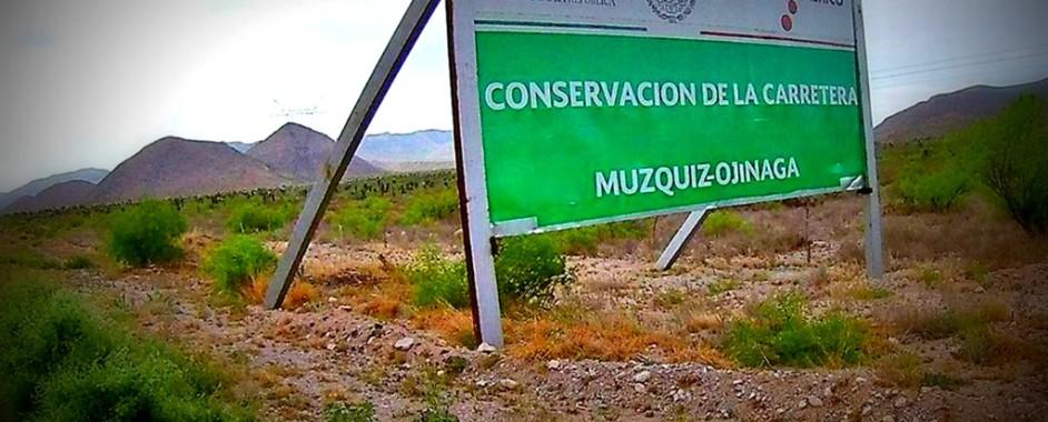BUSCAN DIPUTADOS DE COAHUILA, TERMINAR CARRETERA MUZQUIZ-OJINAGA